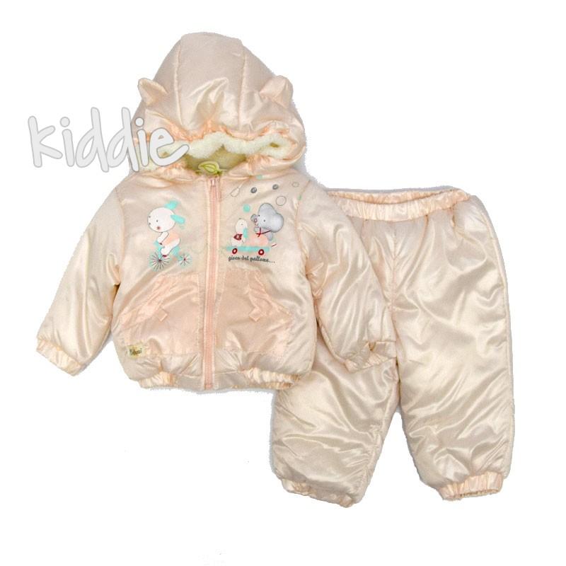 Бебешки комплект Bebessin за момиче