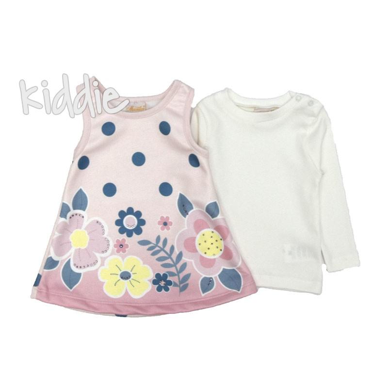 Бебешка рокля с блуза Moonstar