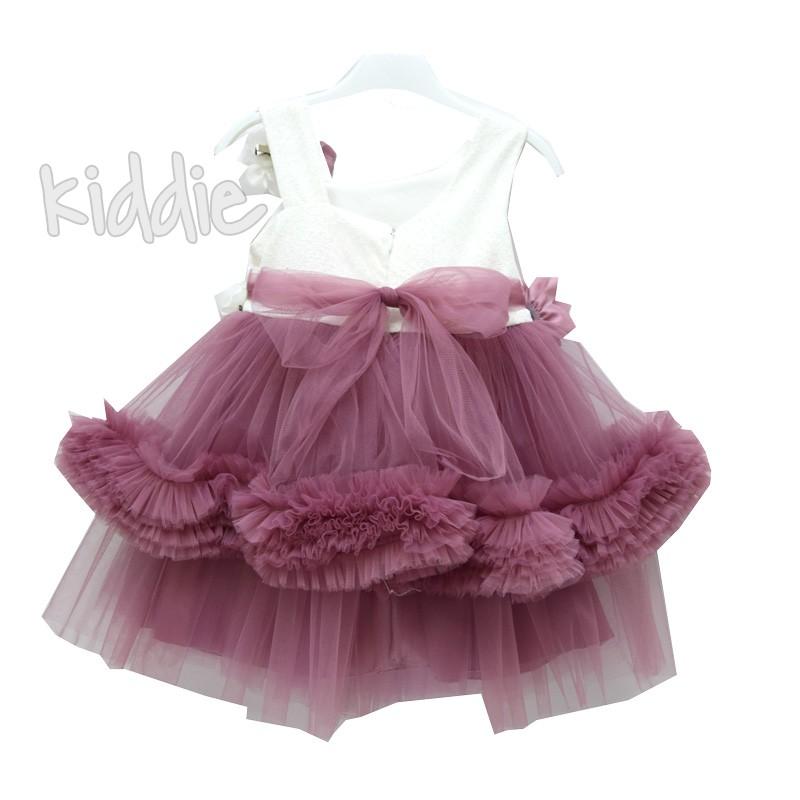 Детска рокля Цвят лилав Albi fashion girl