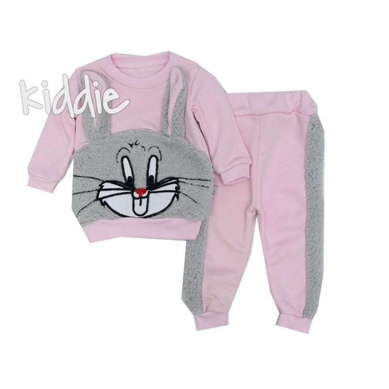 Бебешки комплект Зайо Baby Doss за момиче