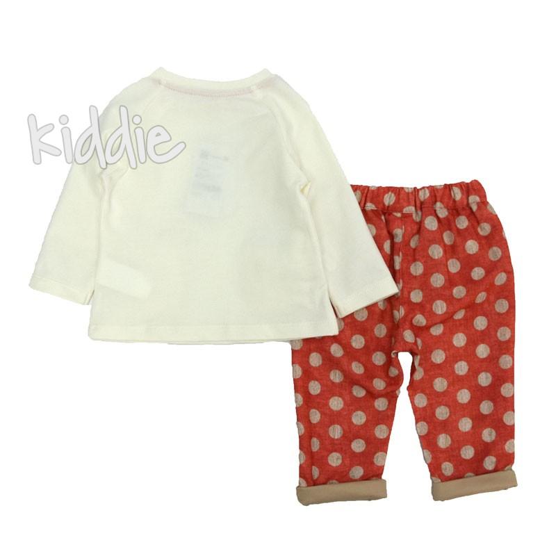 Бебешки комплект за момиче две части Cikoby