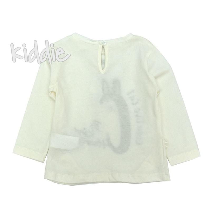 Бебешка блуза Cikoby с мишле за момиче