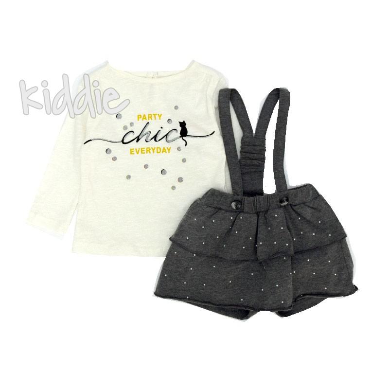 Бебешки комплект Chic Cikoby за момиче