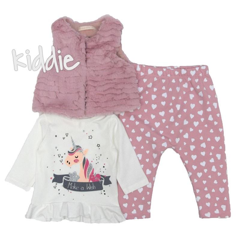 Бебешки комплект Make a Wish Baby Rose за момиче