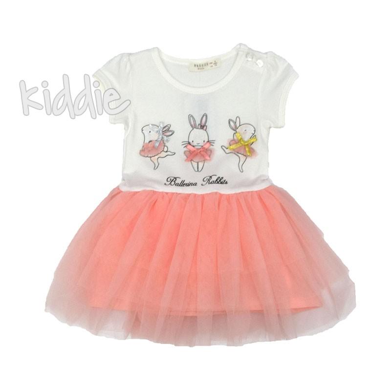 Бебешка рокля Breeze Ballerina Rabbit
