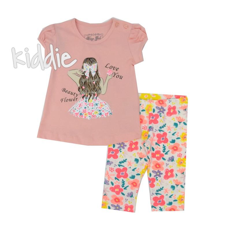 Детски комплект за момиче Breeze с щампа