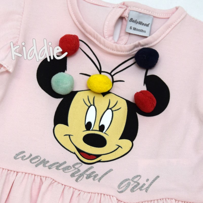 Бебешки комплект Wonderful Girl Мини Маус, Baby Wood
