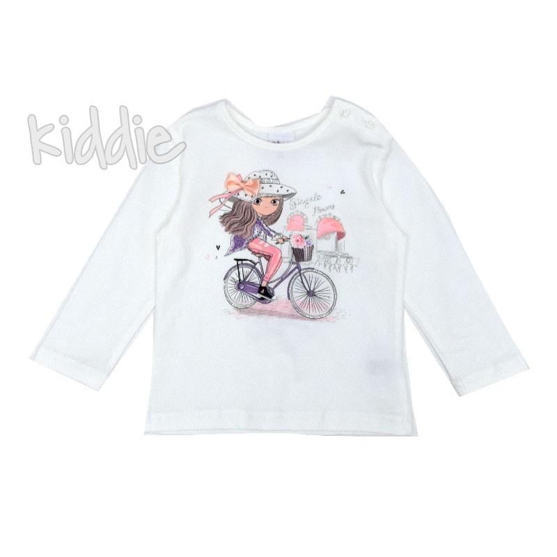 Бебешка блуза Bicycle Ativo за момиче