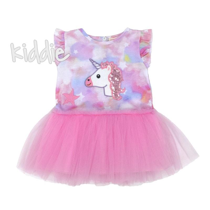 Бебешка рокля Еднорог Baby Rose