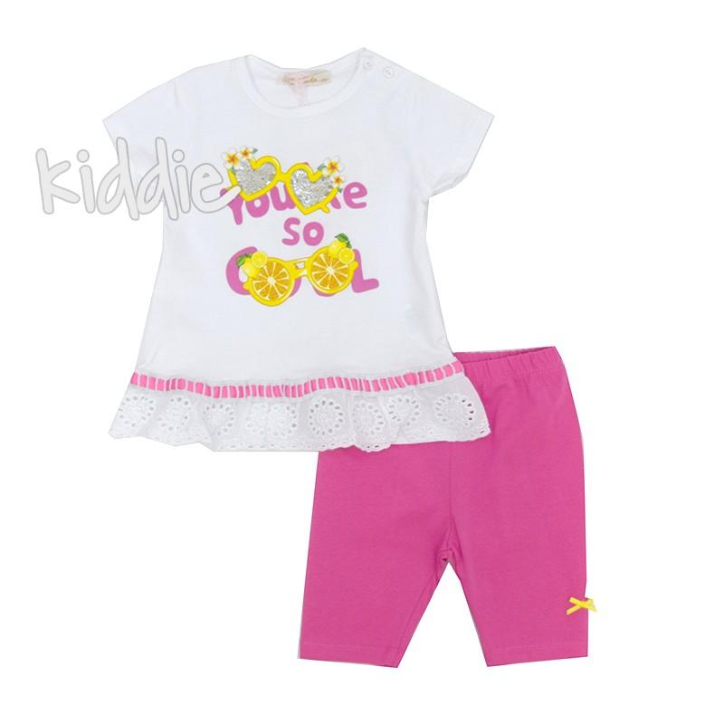 Бебешки комплект Repanda за момиче с клин