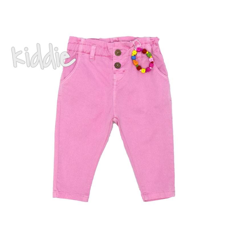 Бебешки цветен панталон Cikoby с гривна
