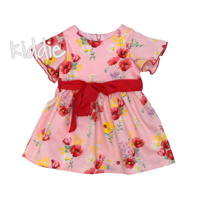 Бебешка рокля Cikoby на макове