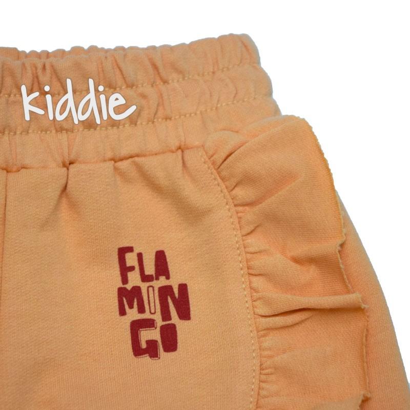 Бебешки комплект Cikoby с фламинго за момиче