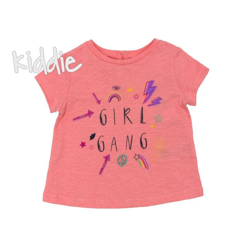 Бебешка тениска Cikoby Girl Gang за момиче