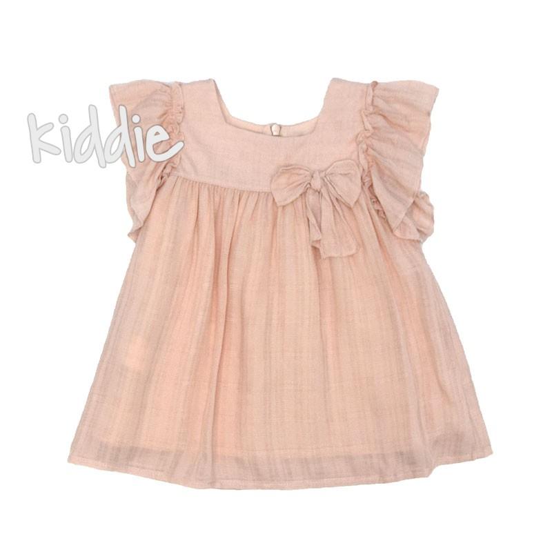 Бебешка рокля Cikoby с панделка