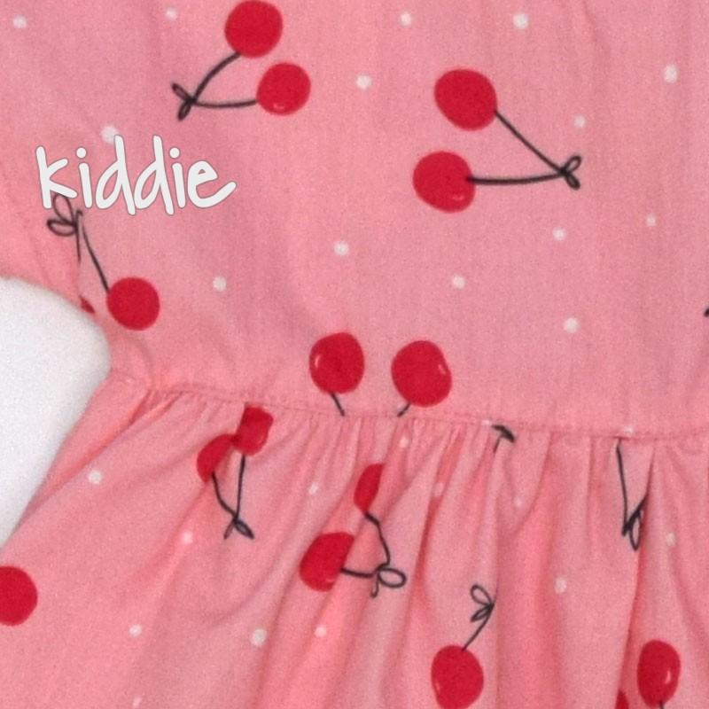Бебешка рокля Cikoby Черешки за момиче