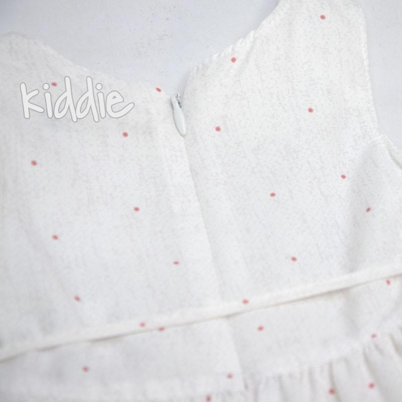 Бебешка рокля с цветя Moonstar