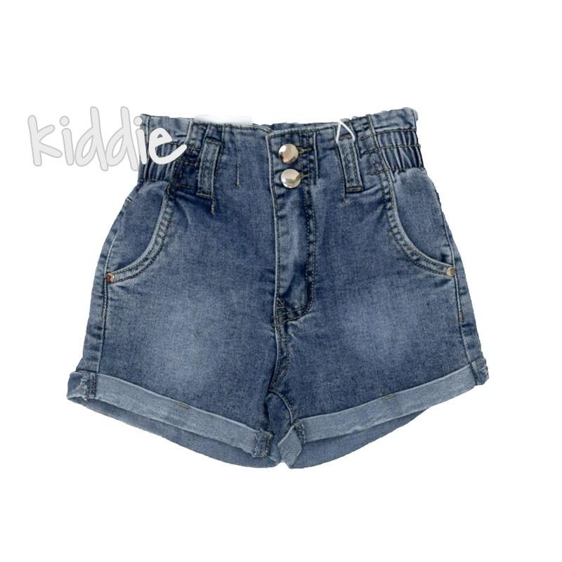 Детски къси панталони Grace за момиче с висока талия