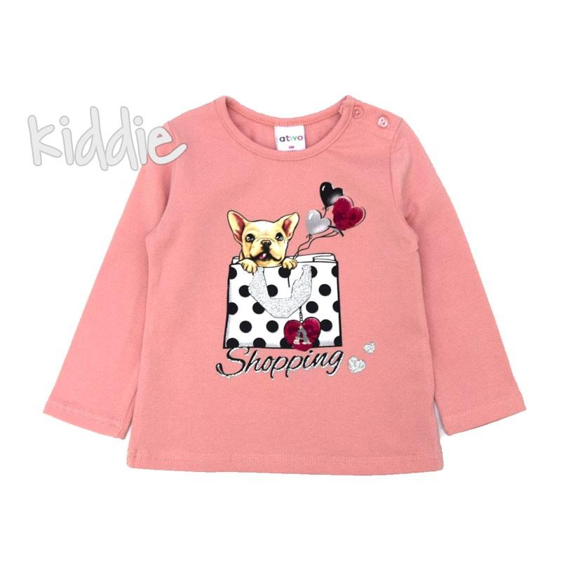 Бебешка блуза Ativo Shopping за момиче