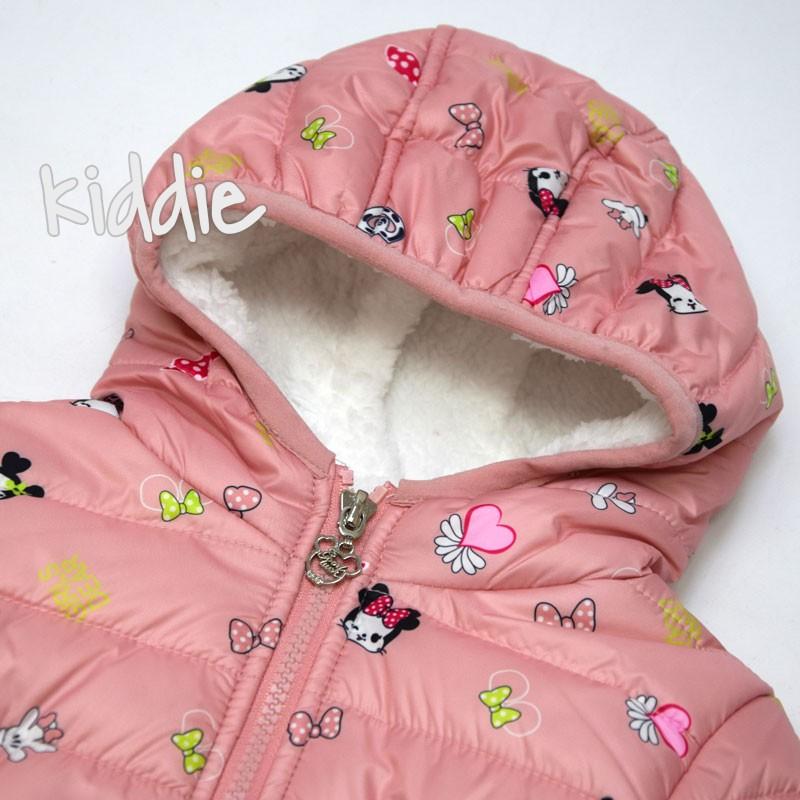 Бебешко яке Мини Маус Pink Baby за момиче