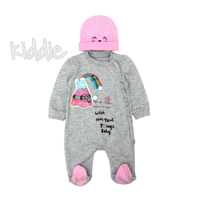 Бебешки гащеризон Wish Come True Tongs Baby за момиче
