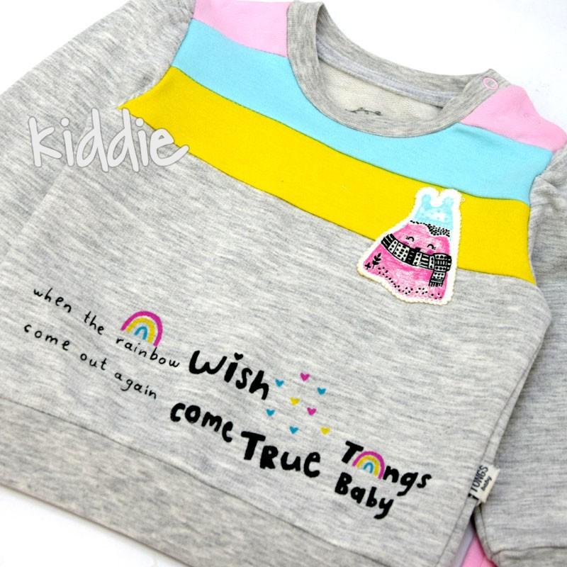 Бебешки комплект Wish Come True Tongs Baby за момиче