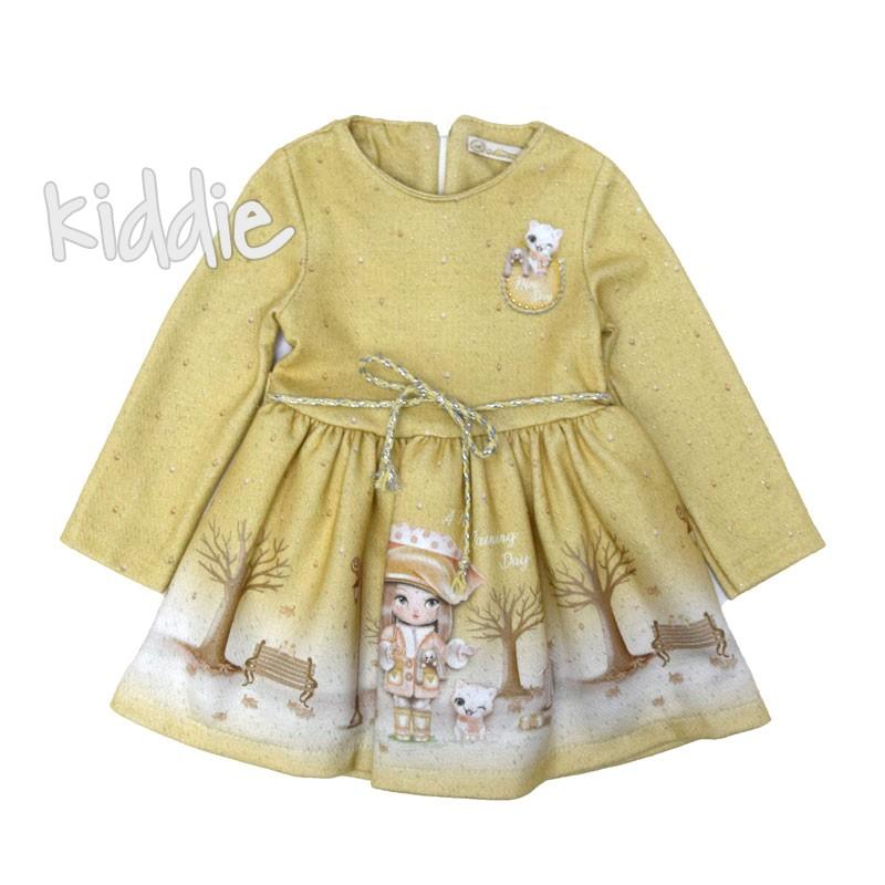 Бебешка рокля Moonstar с хастар
