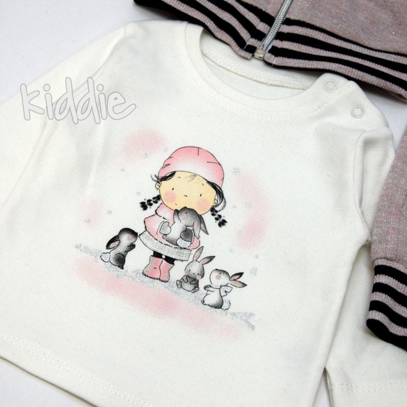 Бебешки комплект Boncuk 3ч за момиче