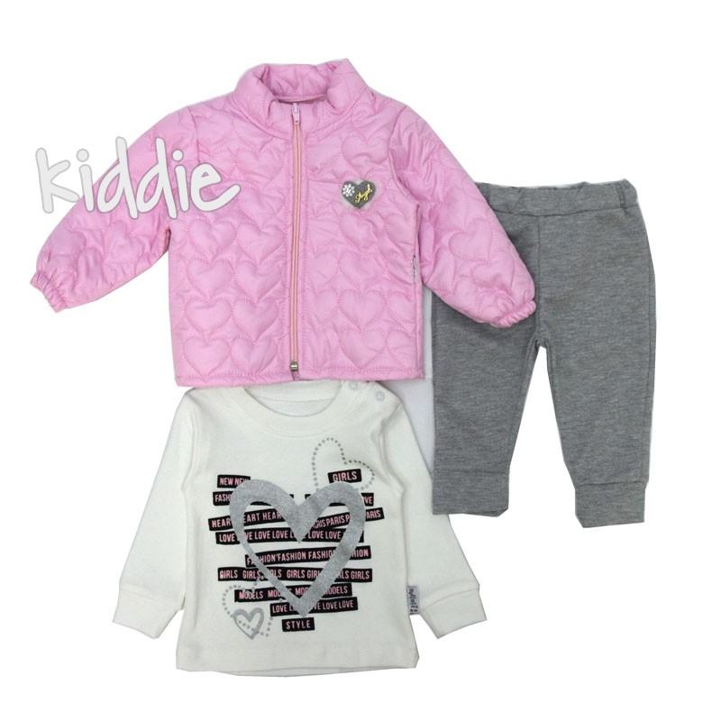 Бебешки комплект Modimix за момиче