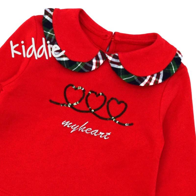Бебешка блуза Cikoby за момиче My Heart