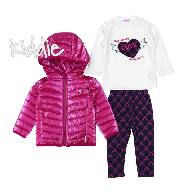 Бебешки комплект Very Cute Baby от 3 части за момиче