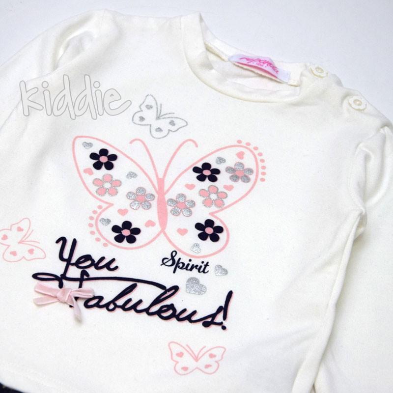 Бебешки комплект Repanda You fabolous за момиче