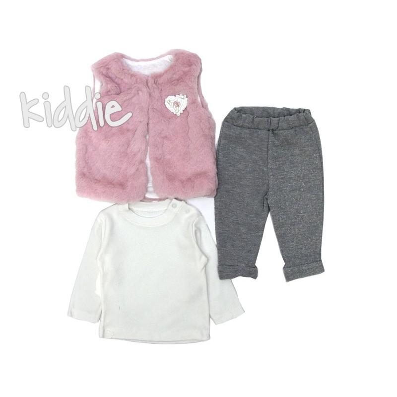 Бебешки комплект Allegrose за момиче