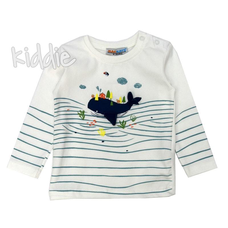 Бебешка блуза Кит Mackays за момче