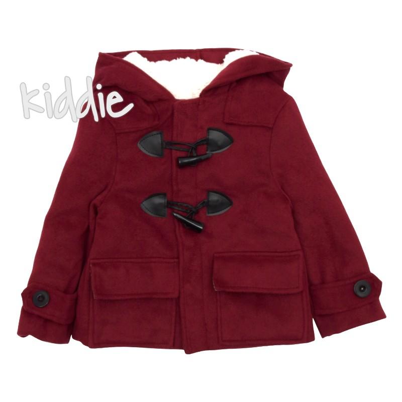 Детско палто за момче с топъл хастар, Ajjj design