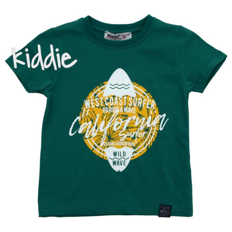 Детска тениска за момче California с апликация Wanex
