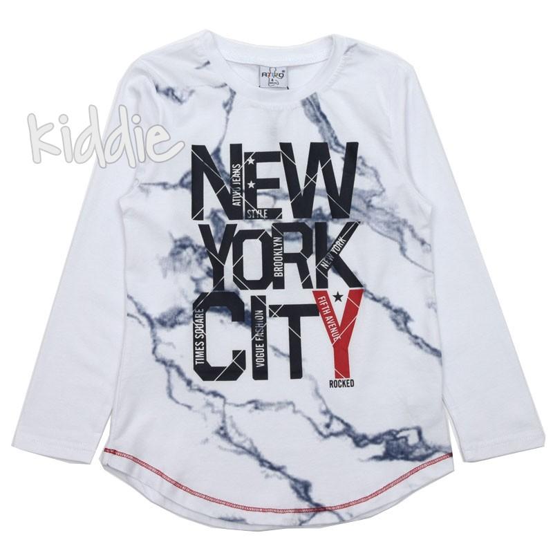 Детска блуза за момче New York city Ativo
