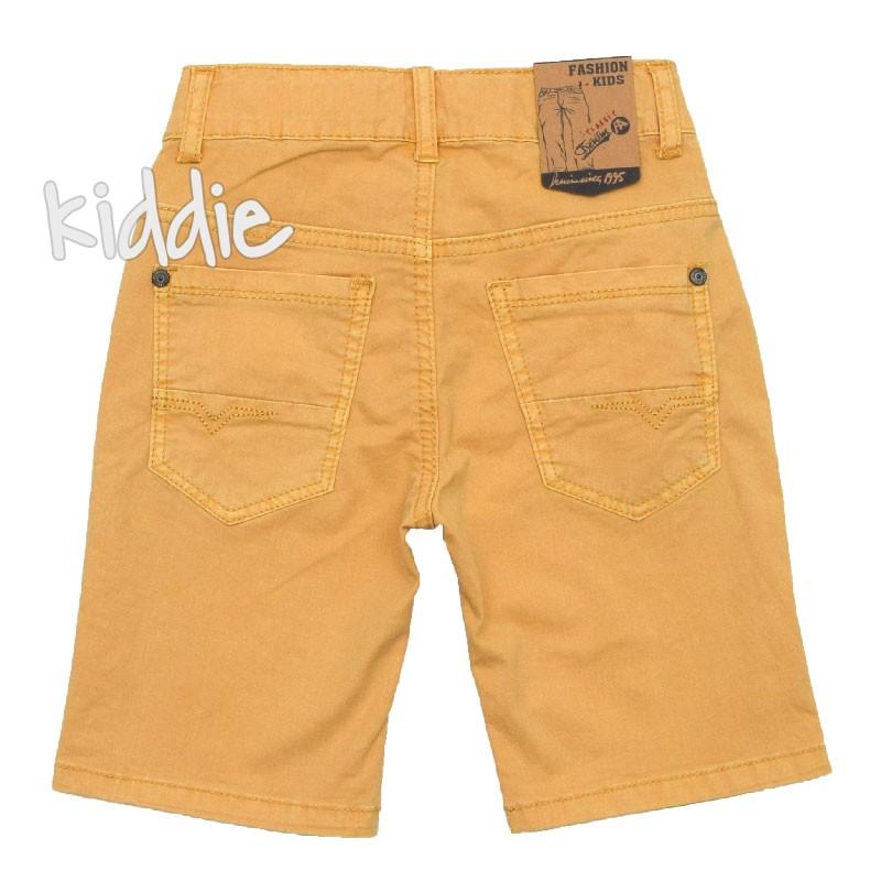 Детски бермуди с джобове за момче Fashion kids