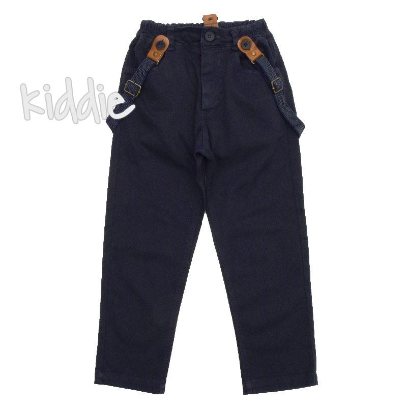 Детски панталон Contrast за момче с тиранти