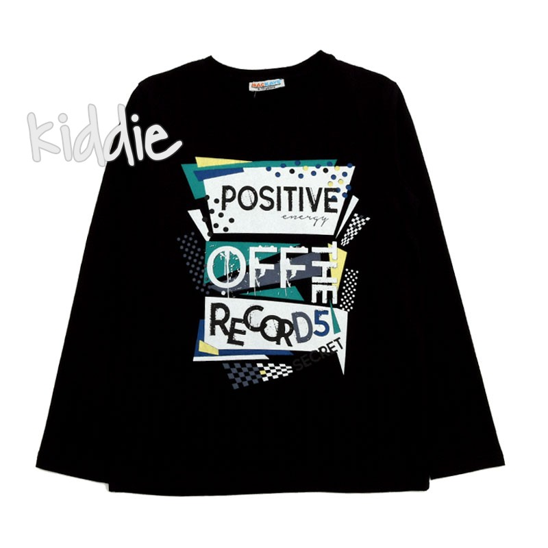 Детска блуза за момче Positive off, Mackays