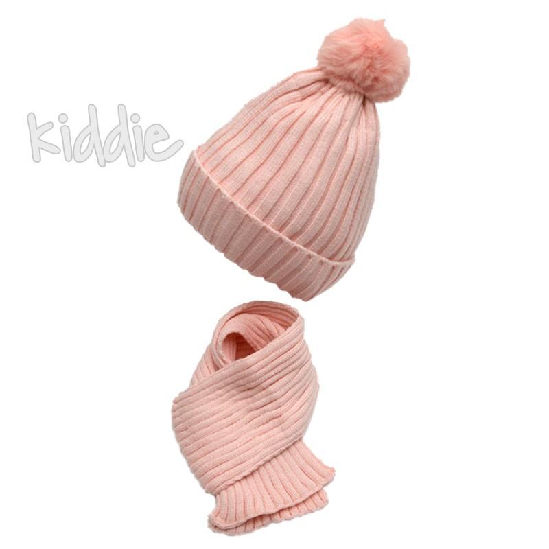 Бебешки комплект шапка и шал