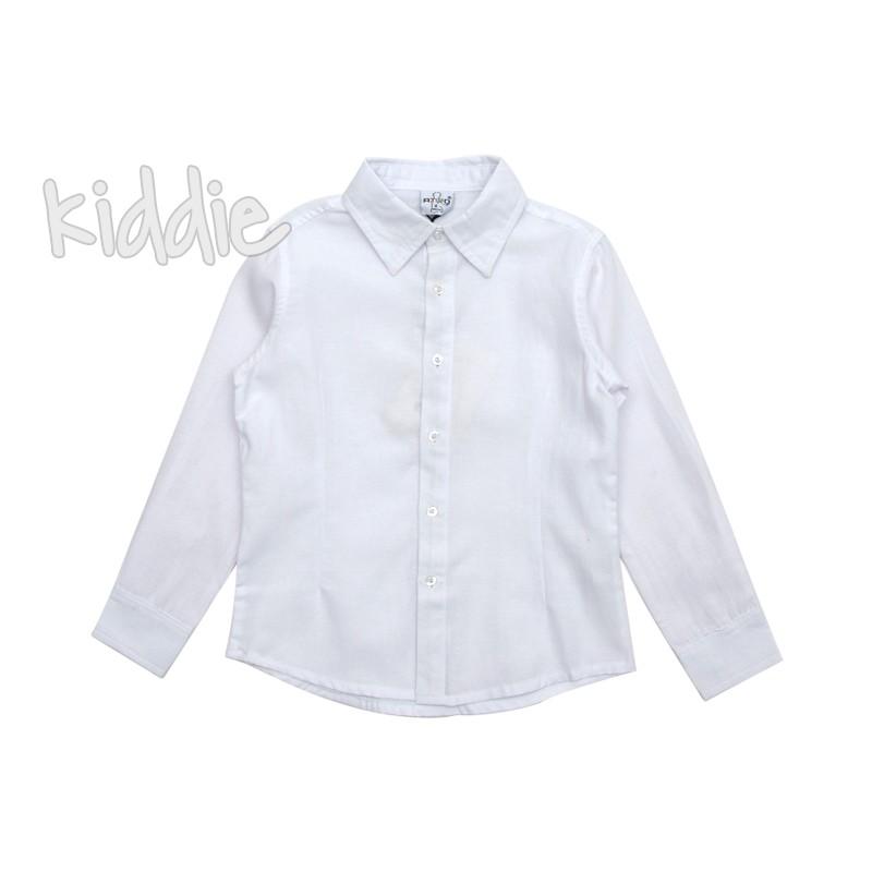 Детска риза с дълъг ръкав за момче Ativo