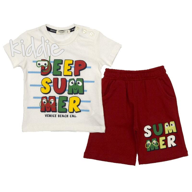Детски комплект Deep Summer, Breeze за момче
