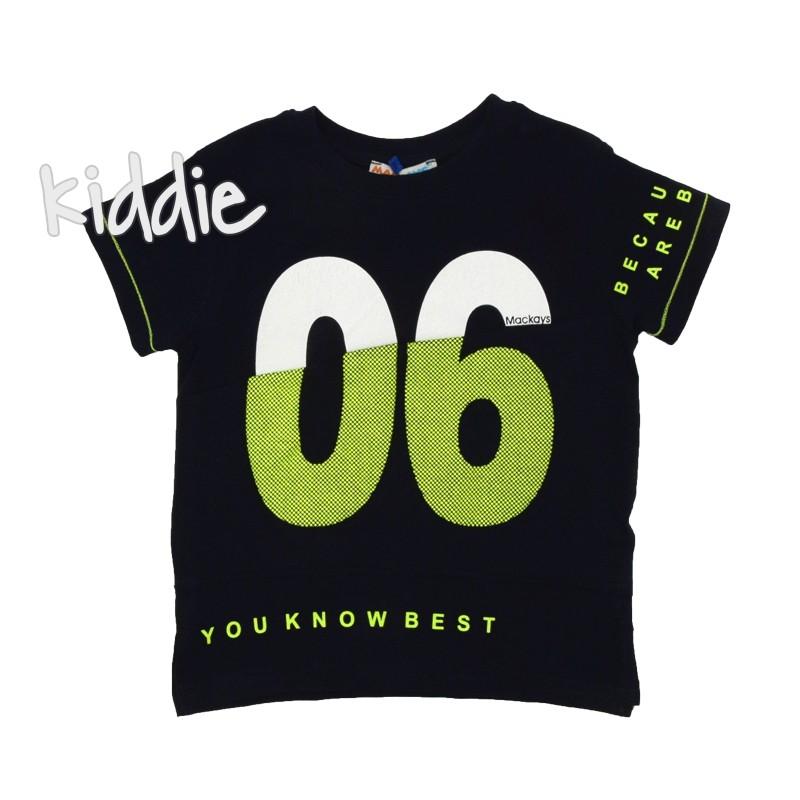 Детска тениска 06 Mackays за момче