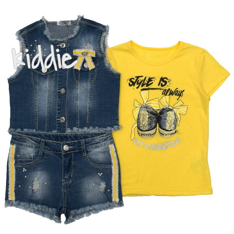 Детски комплект Style is Always in Fashion Lollitop за момиче