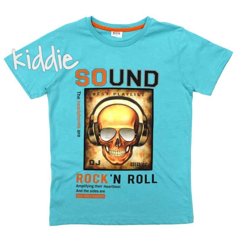 Детска тениска Sound Rock and Roll, Busen за момче