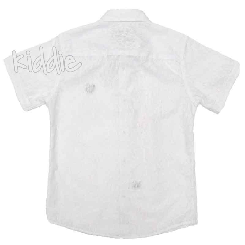 Детска риза Breeze за момче с къс ръкав
