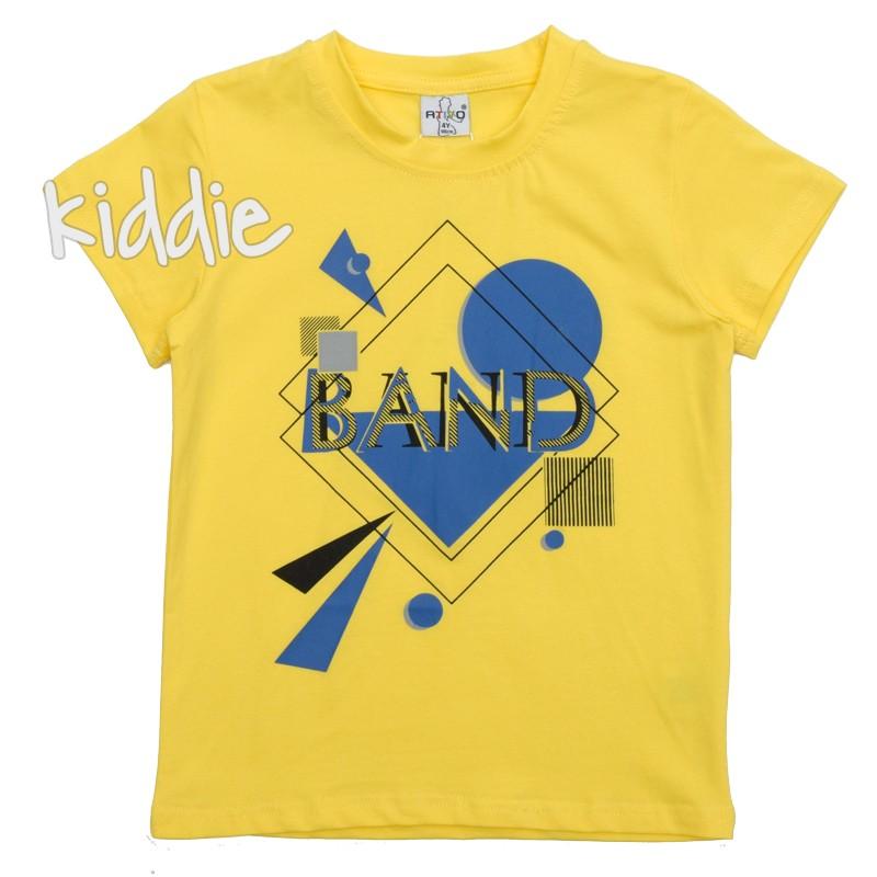 Детска тениска Ativo Band за момче