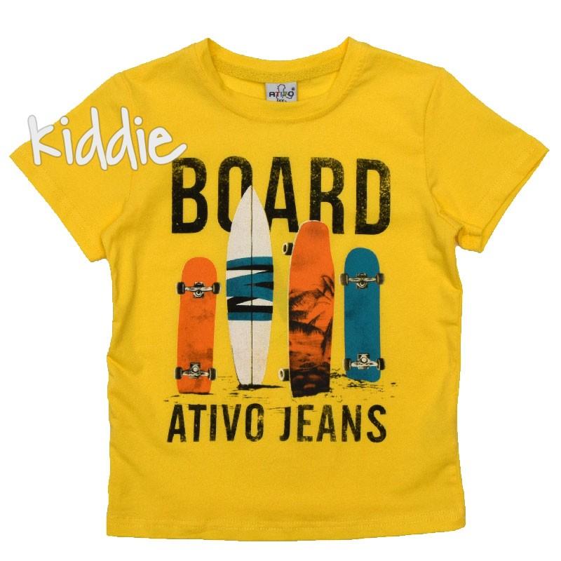 Детска тениска Board, Ativo за момче