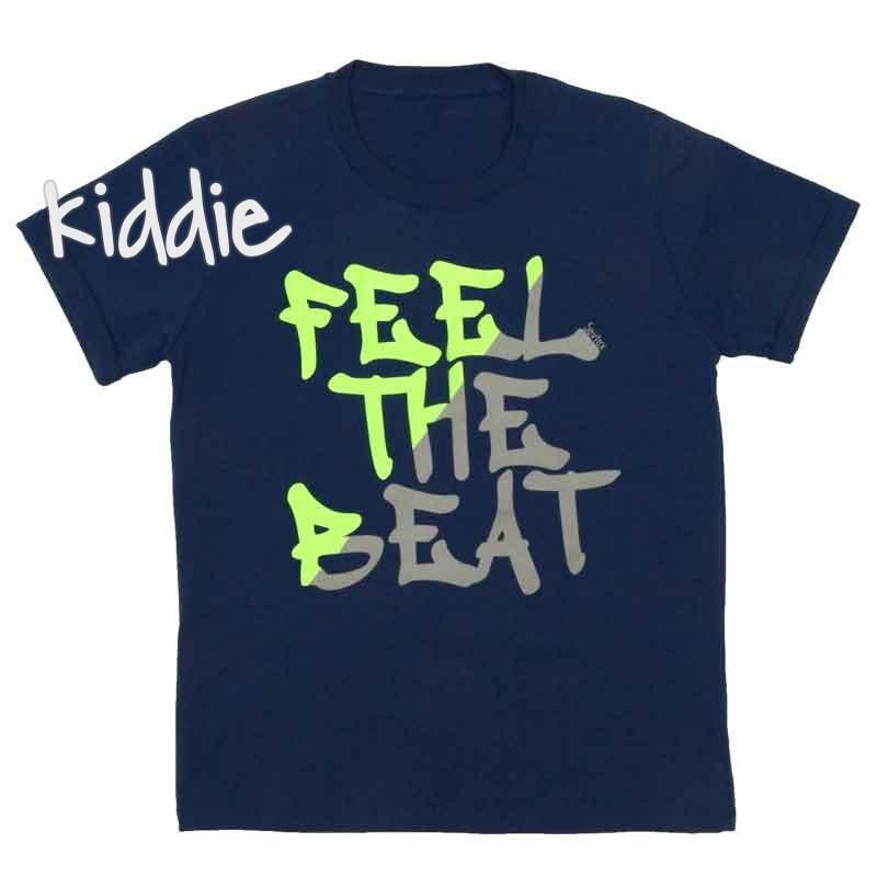 Детска тениска Feel The Beat, Севтекс за момче